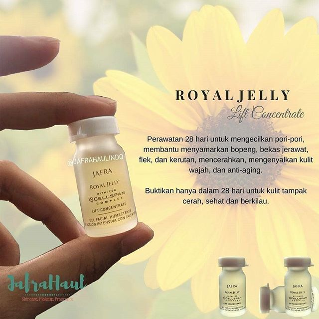 Royal Jelly Jafra Untuk Bopeng