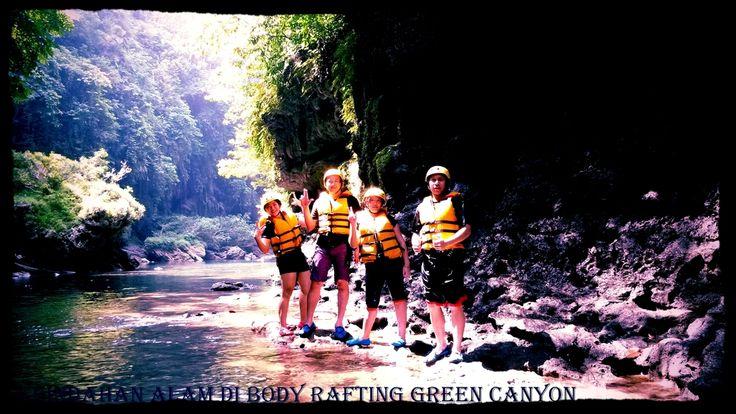 Paket Body Raftuing Green Canyon