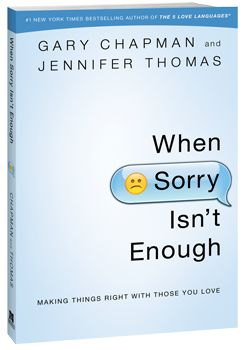 When Sorry Isnt Enough....what to say when ..... he is allergic to apologizing