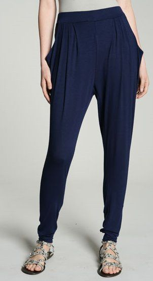 ..skinny harem pants- a more defined look