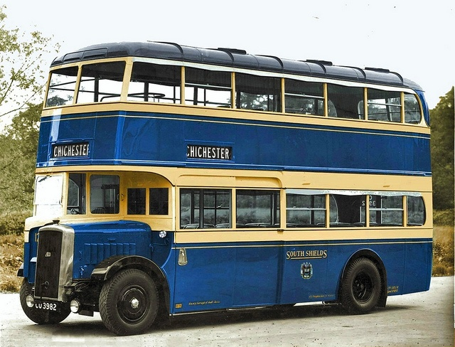 South Shields new double-deck bus 121 | Flickr - Photo Sharing!