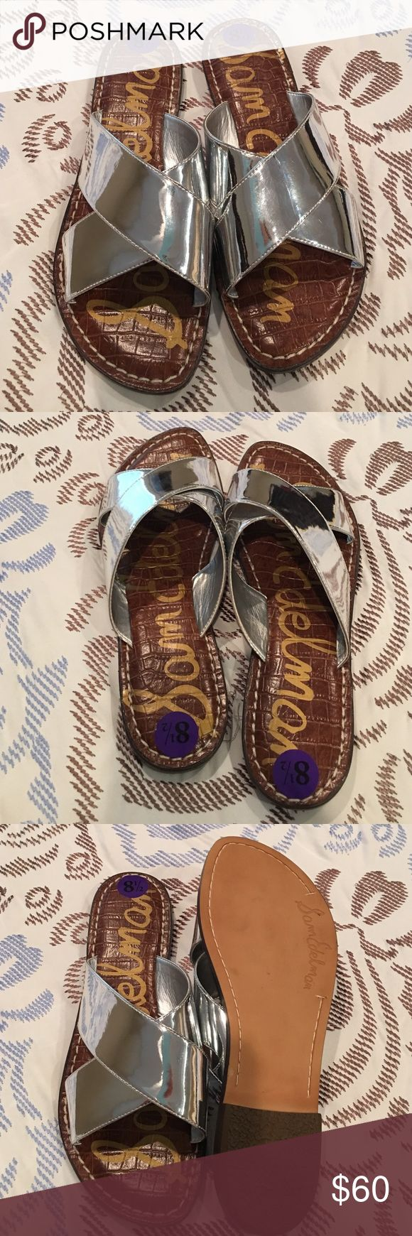 BLACK FRIDAY SALE🎄🎄🎄Sam Edelman sandals SALE PRICE IS FINAL! Beautiful, brand new slide in sandals. These sandals are soft and comfy for all day wear! They are an adorable addition to any wardrobe. They have never been worn only tried on. NO TRADES Sam Edelman Shoes