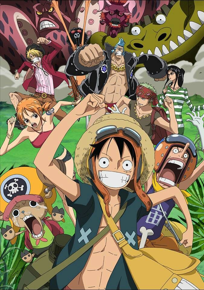 One Piece This pic is actually one of my favorites from Strong World