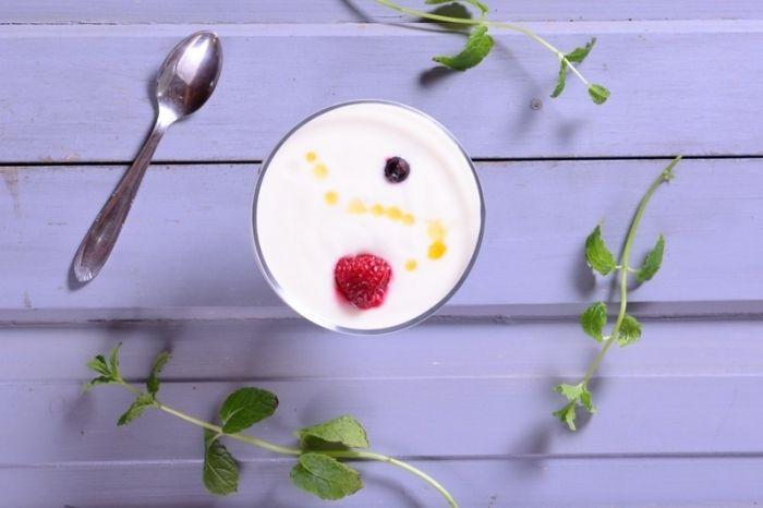 Így készül a finom, friss házi joghurt....
