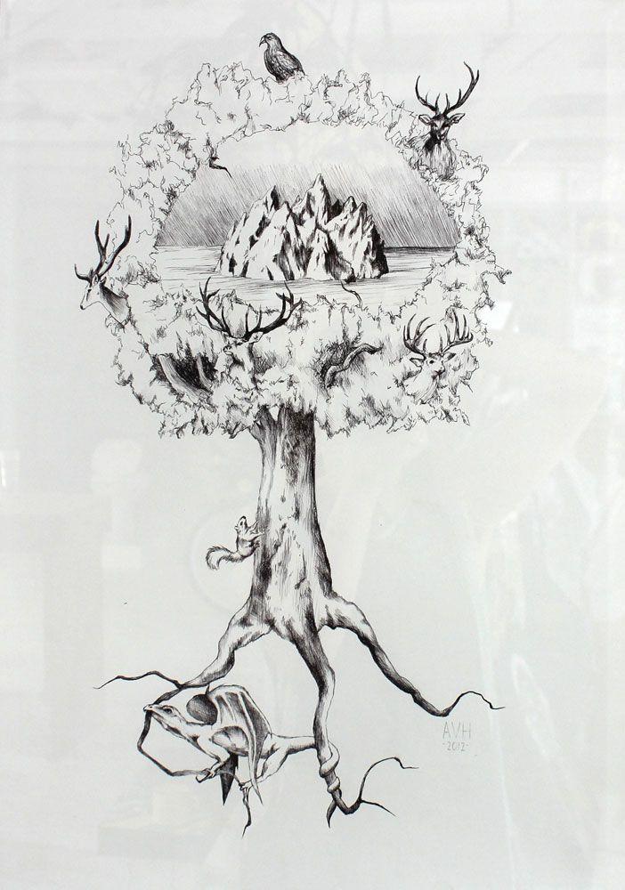 Yggdrasil by Adele van Rensburg