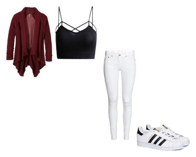 """#397"" by aureeliet on Polyvore featuring prAna and adidas"