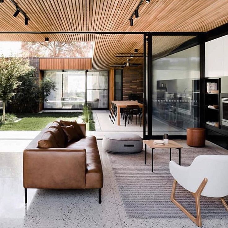 This Tuesday's inspiration comes from @thelocalproject an Australian interior design firm. Their feed is awash with architectural gems and great design. Dream living space right there! // #earlofeastlondon #inspiration