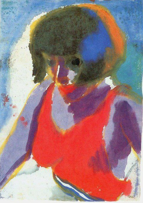 Emil Nolde was a German painter and printmaker. He was one of the first Expressionists, a member of Die Brücke, and is considered to be one of the great oil painting and watercolour painters of the 20th century.