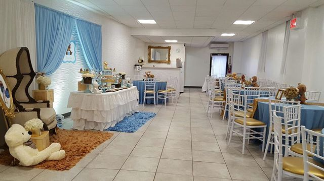 Come visit our venue Today during our open house hours from 630-9pm! We are not taking any more reservations for 2016 only for 2017! Come book your packages before prices go up before the end of the year !! Dm/email for venue and decor package!!! We also offer outside decoration if you have your own venue!  Venue for Seven Hours 2 Tier Cake (Options Available) 1 Dozen Cake Pops 1 Dozen Cupcakes 1 Dozen Sugar Cookies 1 Dozen Chocolate Covered Oreos  2 Candy Jars (Including Candy) Cake Stands…