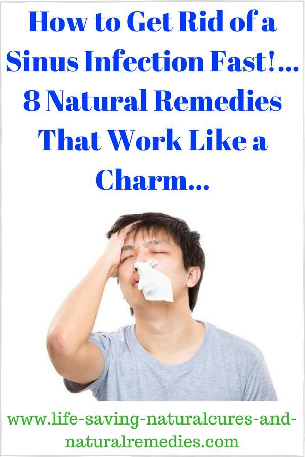 How To Get Rid Of Nasal And Chest Congestion Fast