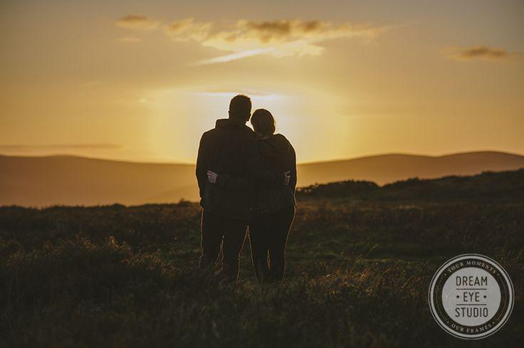 #engagement #photography #sunset #ireland #dreameyestudio