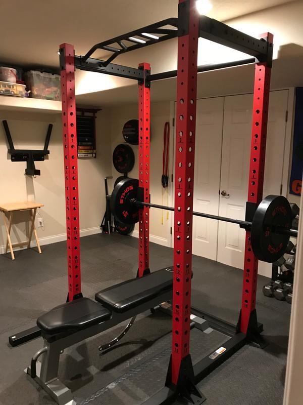 Ethos Power Rack 1 0 Home Gym Design Gym Decor At Home Gym