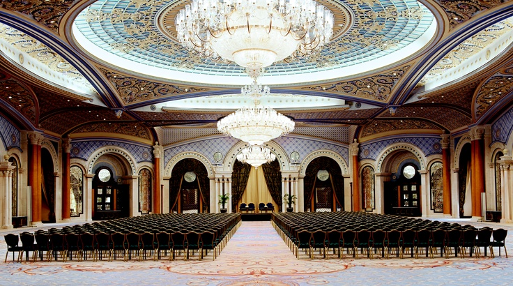 The RitzCarlton Ballroom A at The RitzCarlton, Riyadh
