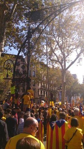 Passeig de Gràcia Barcelona. 19-10-2014 by @JosepCarmona