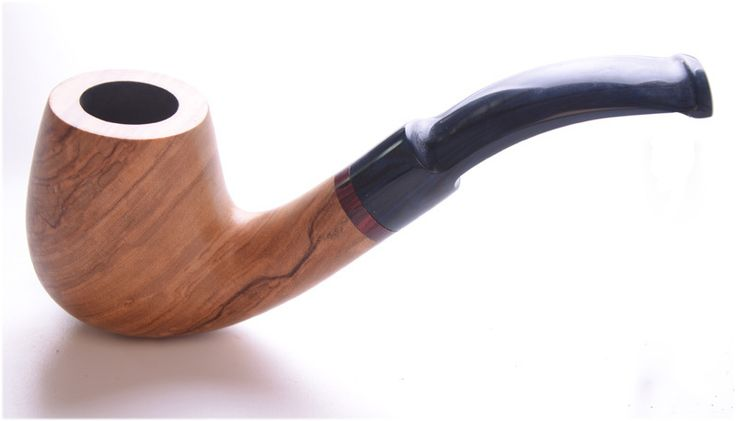 smoking pipes olivewood  pipes   tuyau tupakointi putki  pipa cachimbo Pfeife #821 Natural Finish