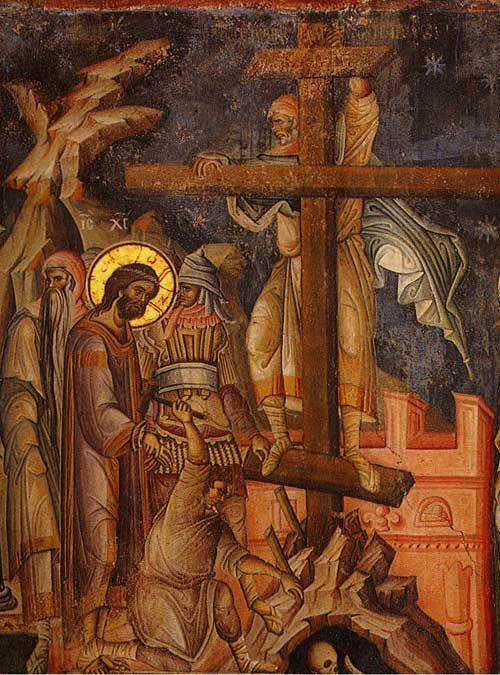 Fresca a lui Manuil Panselinos - Manastirea Vatoped