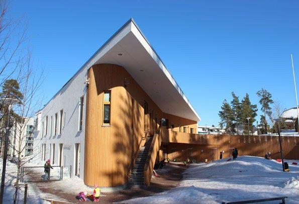 Roosaliina kindergarten (Espoo, Finland).