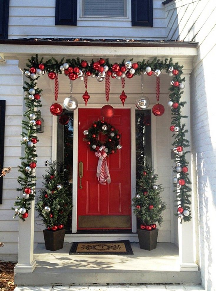 Christmas Front Porch Ideas 33 best christmas porch designs images on pinterest   merry