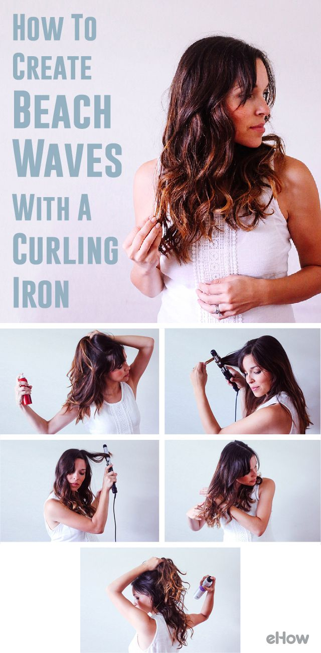 how to style hair with curling iron create the waves with your curling iron 4398