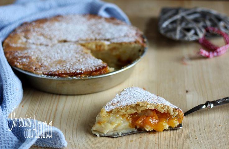 Crostata+crema+e+marmellata