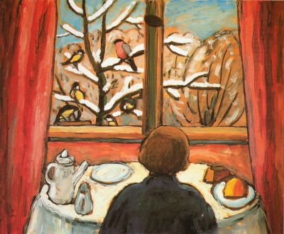 Gabriele Munter (1877–1962) was one of the founder of Der Blaue Reiter, agroup of early 20th century European artists devoted to exploring abstraction in art, whose members also included Vassily Kandinsky, Alexei Jawlensky, and PaulKlee.