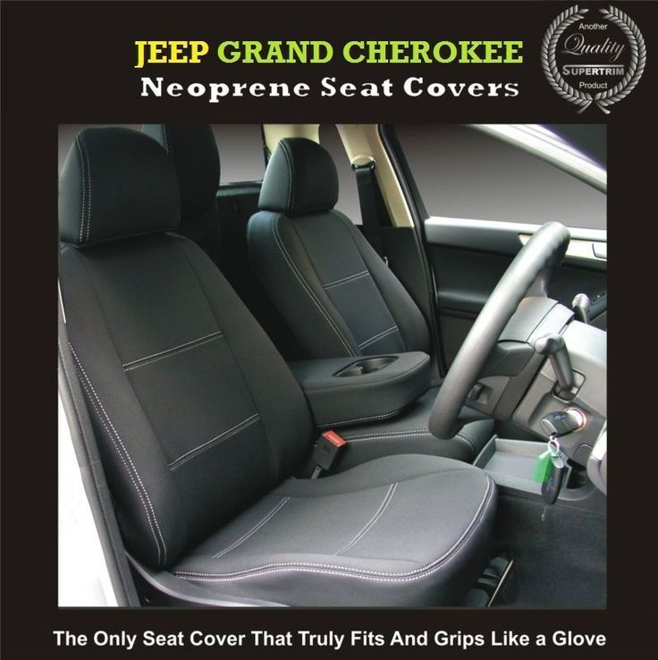 CUSTOM MADE JEEP (GRAND) CHEROKEE FRONT Waterproof Car Seat Covers - 100% FIT!