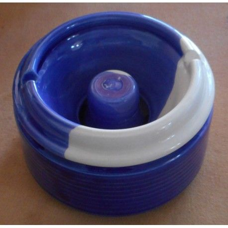small d=11 ashtray for windy places, handmade by Tinos-Ceramics