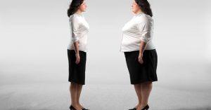 Brunette, Obese vs Skinny