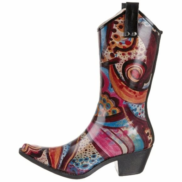 Our best seller Monet rain boots by Nomad at Seasons by Design specialty shop, 2605 Ford Drive, New Holstein, WI 53061. 920-898-9081 follow us on Facebook seasonsbydesigngifts@yahoo.com