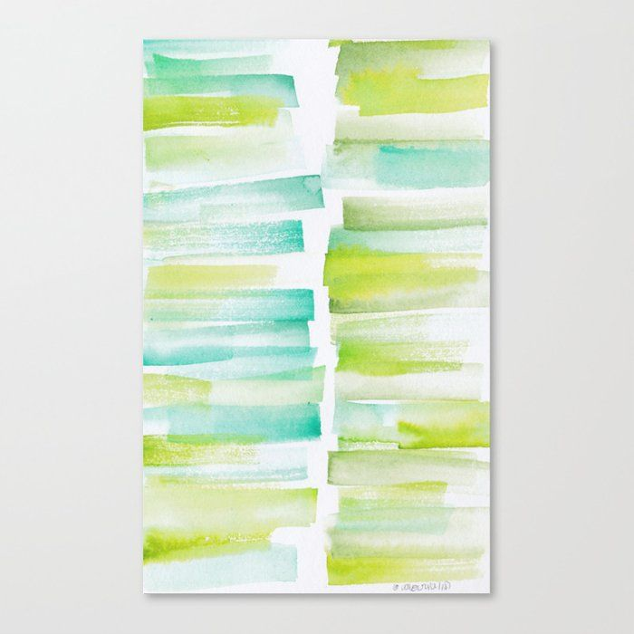 Buy 6 181101 Watercolour Palette Abstract Art Lines Stripes