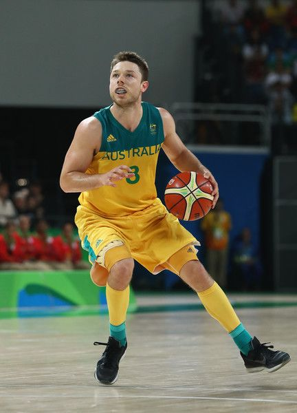 Matthew Dellavedova Photos - Matthew Dellavedova #8 of Australia handles the ball during the Men's Preliminary Round Group A between Australia and the United States on Day 5 of the Rio 2016 Olympic Games at Carioca Arena 1 on August 10, 2016 in Rio de Janeiro, Brazil. - Basketball - Olympics: Day 5