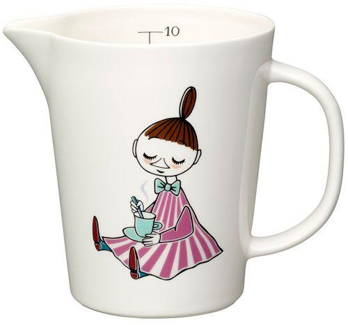 Moomin measuring mug by Arabia Finland #moomins #moomintrolls