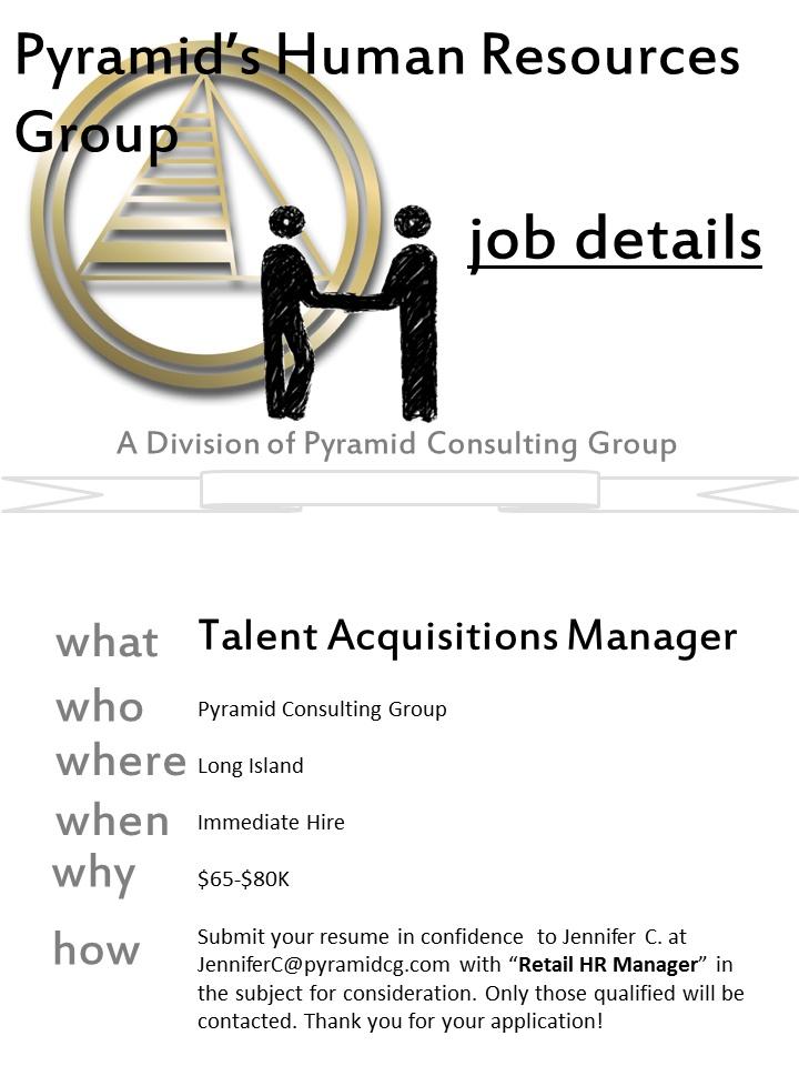 Talent management and acquisition human resource management