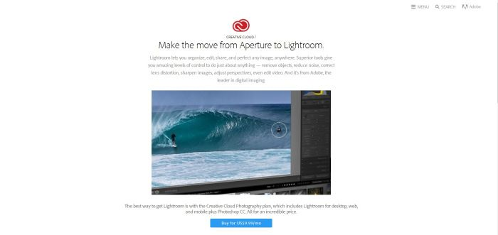Adobe making a migration tool for Aperture users