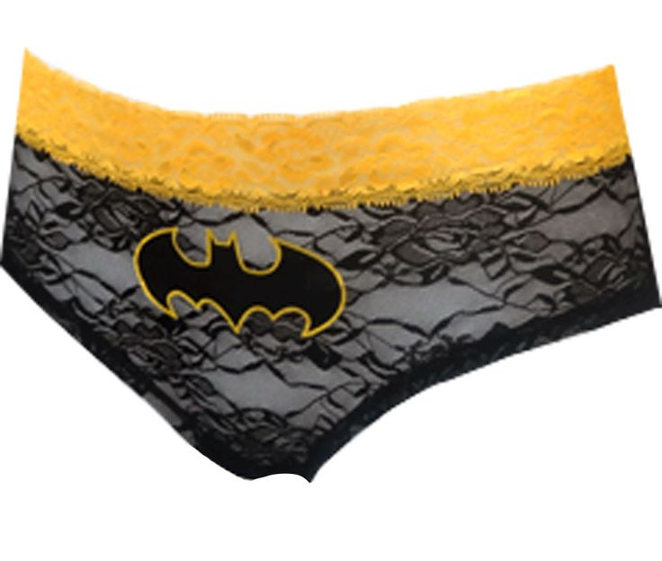 DC Comics Batgirl Logo Lace Panty Calling all Batgirls...these are the panties…