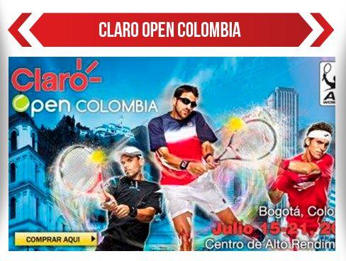 Claro Open Colombia, el Mejor Tenis en Bogotá