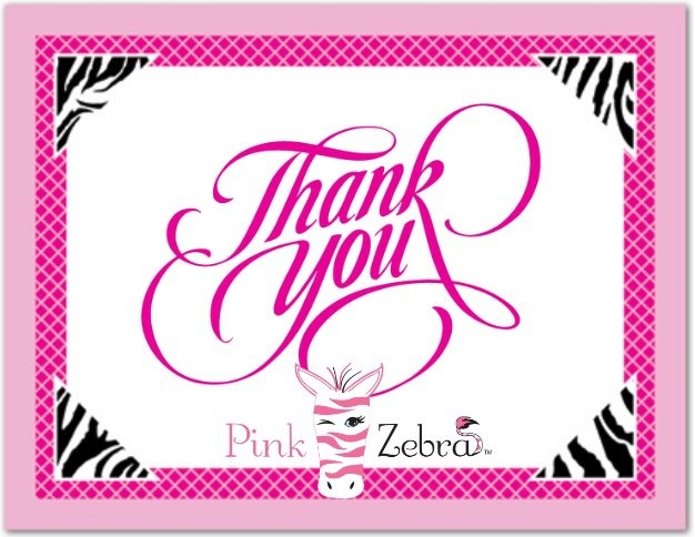 345 best pink zebra images on pinterest pink zebra sprinkles calligraphic thank you in red with phrase on white background for more keller williams realty business card designs visit agentcards reheart Image collections