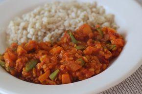 Recept: Curry van Linzen en Bonen