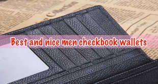 Best and nice men checkbook wallets!