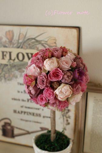 ■Flower noteのこと■ ■フラワーギフトのご注文方法■ ■Flower noteの作品集■ ■小さなお花の教室 ■ ■現在募集中のレッスン■ …