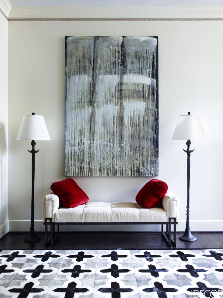 A Young Houston Couple Passionate About Both Contemporary Art And Vivid Color Enlists Designer J