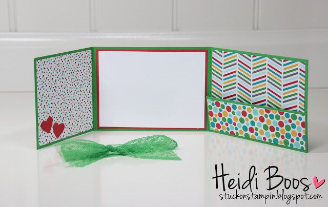 Meet Cucumber Crush (gift card holder) stuckonstamping.blogspot.com