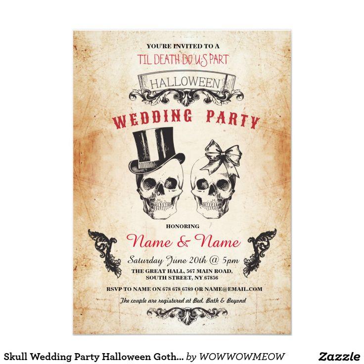 45 best Gothic Romance Wedding Invitations images on Pinterest ...