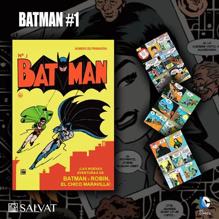 CATWOMAN: EL GRAN GOLPE DE SELINA trae como historieta extra  BATMAN #1,  publicada originalmente en primavera de 1940. Cuando Robin viaja de incógnito a bordo del Delfín, la investigación de un misterioso robo de joyas lleva al dúo dinámico a su primer encuentro con una mujer fatal conocida como la Gata. #SuperHero #Batman #SuperHeroes #Marvel