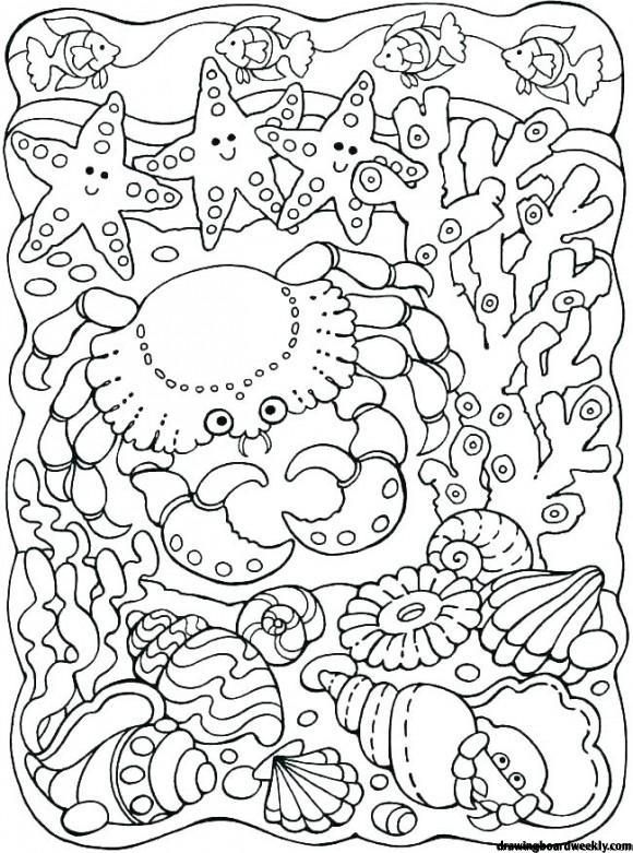 Under The Sea Coloring Pages Ocean Coloring Pages Coloring Pages Designs Coloring Books
