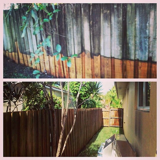 Pressure Cleaning Fences Power Washing And Cleaning Services Call Or Text 954 980 0454 Power Washin In 2020 Cleaning Service Pressure Washing Restoration Services