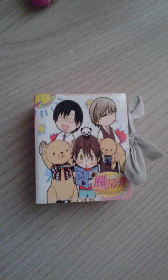 Little book junjou romantica anime handmade. di ConfusingWorld #little #book #junjouromantica #junjou #romantica #anime #handmade