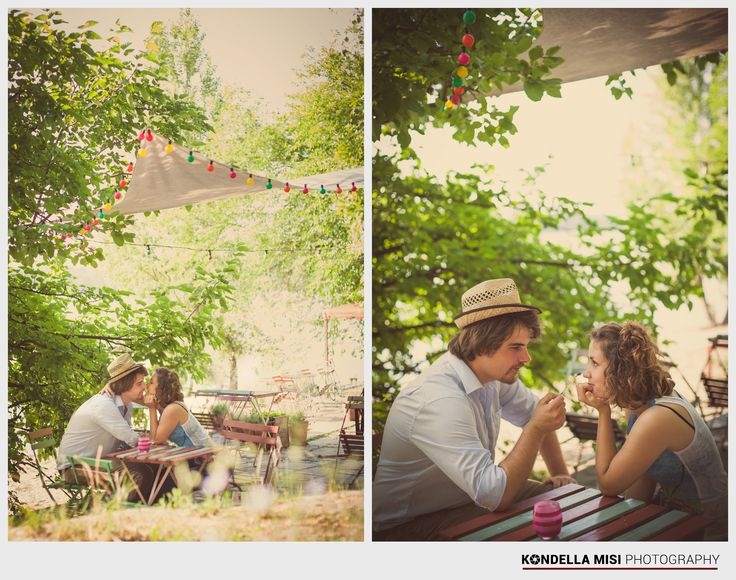 Budapest e-session #engagement #photoshoot #outside #picnic #vintage #Hungary