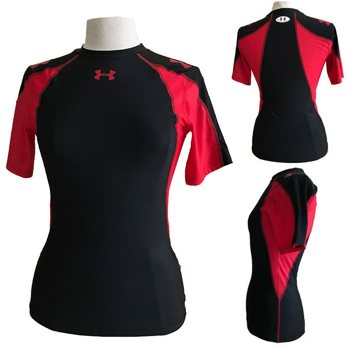 Under Armour Womens Heatgear Fitted/Compression T-Shirt | eBay