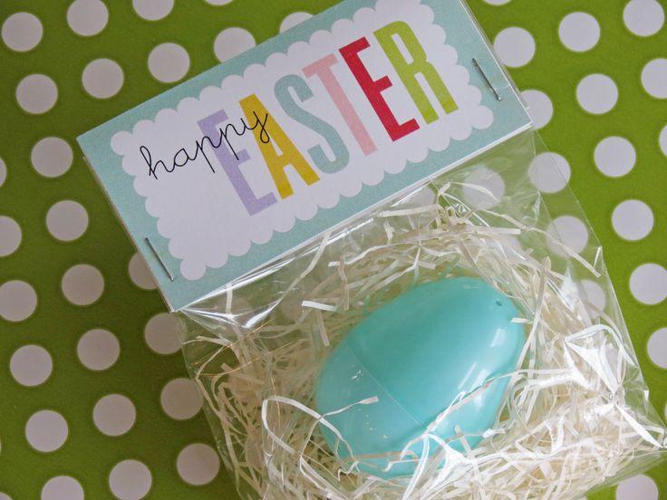 Easter Bag Toppers - Printable File. $4.50, via Etsy.
